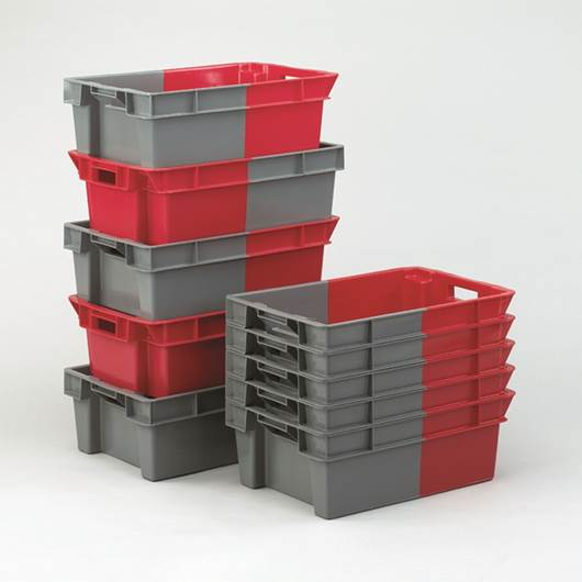 Picture of Two Tone Stack Nest Containers