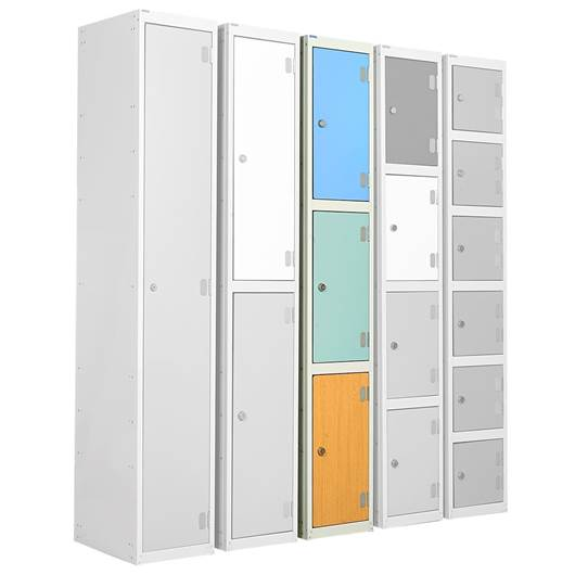Picture of Three Tier Laminate Door Lockers