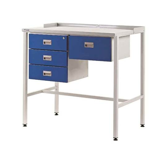 Picture of Team Leader Workstations with Triple Drawer & Single Drawer