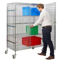 Picture of Wire Mesh Security Trolleys