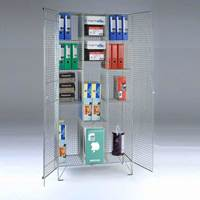 Picture of Wire Mesh Divided Cupboard