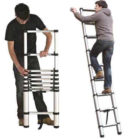 Picture for category Telescopic Ladders