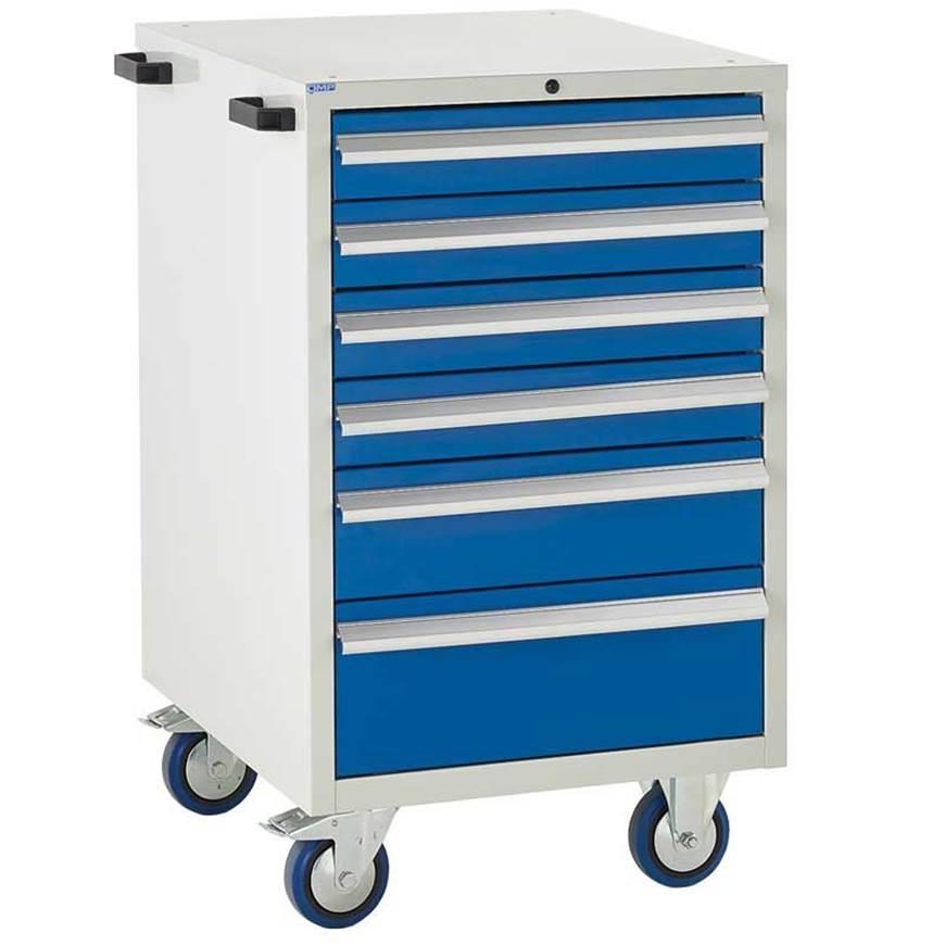 Picture of Mobile Euroslide 6 Drawer Cabinet