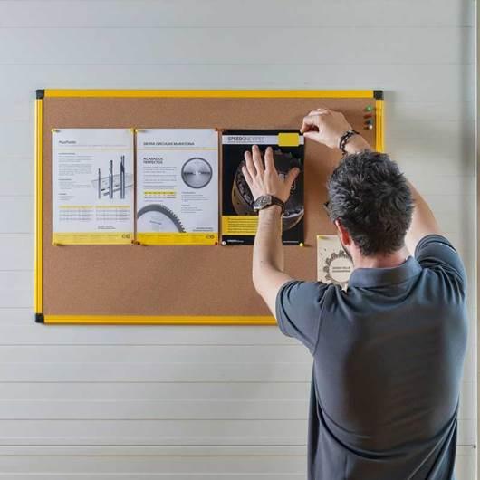 Picture of Ultrabrite Cork Board