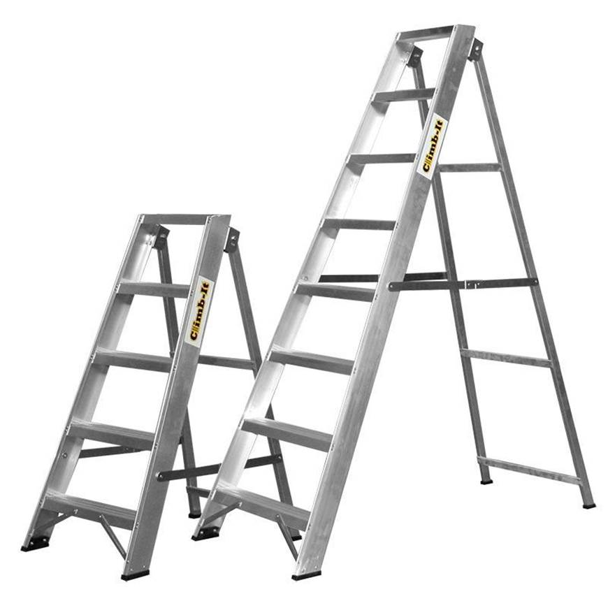 Picture of Climb-It Aluminium Swingback Stepladders